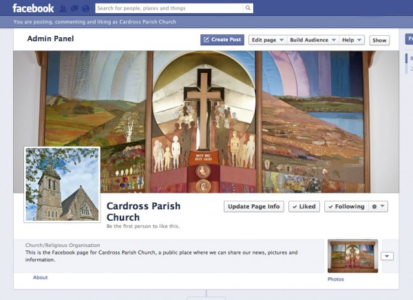Cardross Parish Church :: Latest news :: New Facebook page